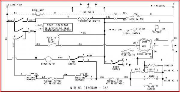 Dryer Fuse Diagram Appliance Talk Kenmore Series Electric Dryer