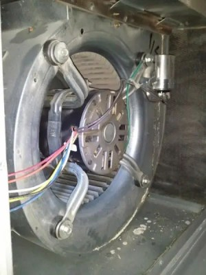 Replacing Blower Motor on Armstrong Air Ultra V