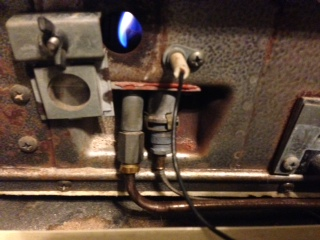 thermocouple for williams wall furnace