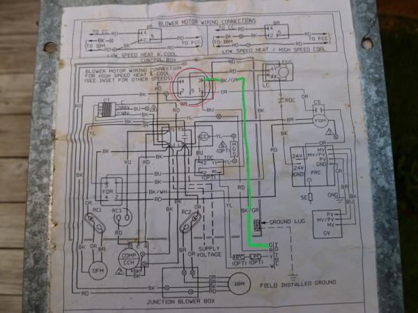 wiring diagram for gas furnace thermostat 3 phase buck boost transformer rheem - model #: rrgg-05n31jkr problem doityourself.com community forums