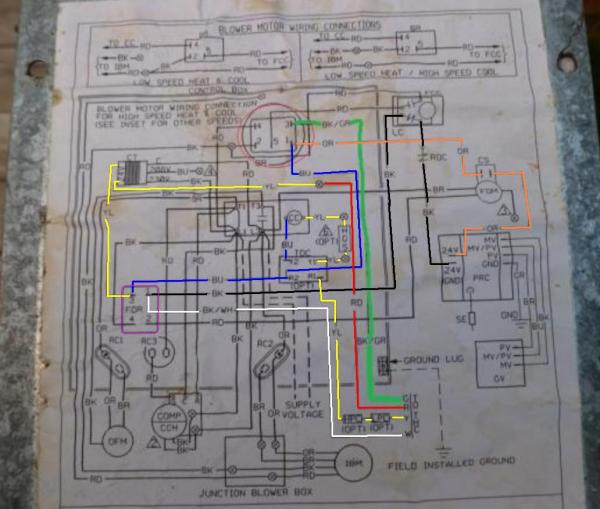 Rheem Gas Furnace Wiring Diagram Efcaviation Com