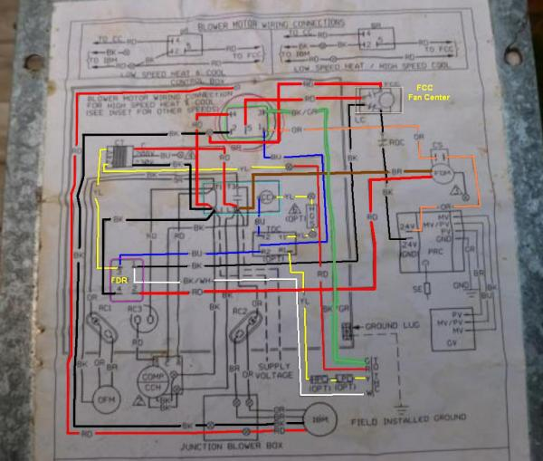 39440d1412534255 rheem model rrgg 05n31jkr furnace problem sean rheem schematic?resize\=600%2C509 rheem hvac wiring diagram rheem wiring diagrams collection  at gsmx.co