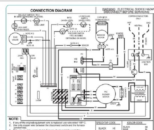 comfortmaker air handler wiring diagram