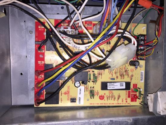 heat thermostat gas 1996 civic alarm wiring diagram lennox elite furnace - no (leds show