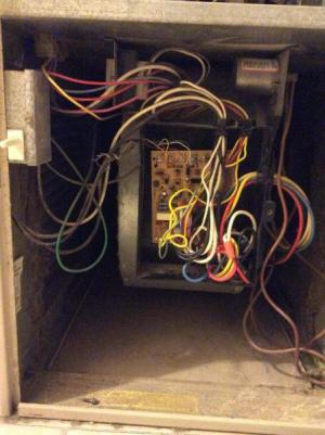 Rheem Criterion upflow gas furnace always tripped negative