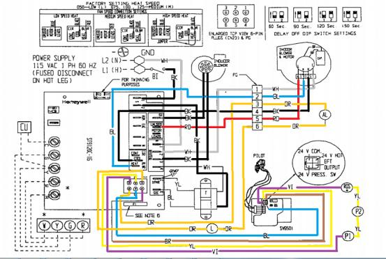 wiring diagram for ac unit capacitor label the brain anatomy ducane natural gas won't light up - doityourself.com community forums