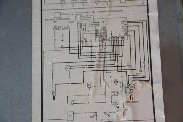 Goodman Gas Furnace Wiring Diagram On Goodman Furnace Wiring Diagram