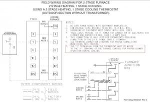 Trane XL80 furnace thermostat wiring questions