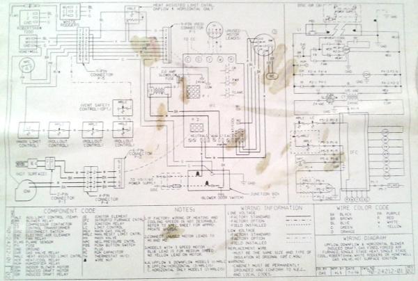 rheem furnace wiring diagram advance mark 10 ballast ruud silhouette ii furnace, no heat - doityourself.com community forums