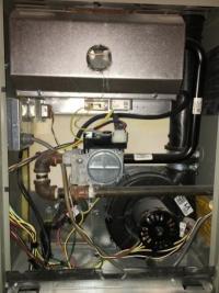 Trane XV95 furnace not blowing hot air - DoItYourself.com ...