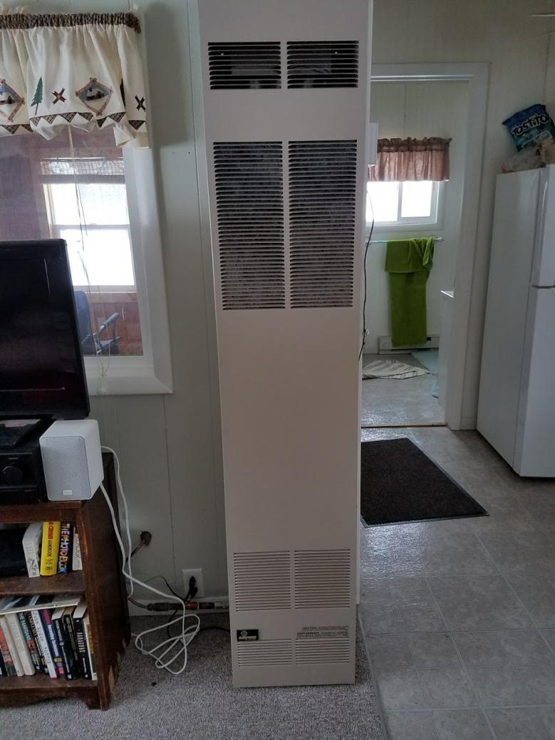 Remove Front Panel On Empire Wall Furnace Doityourself