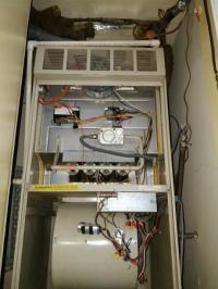 New issue... Furnace won't shut off at set temperature ...