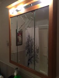 Bathroom Medicine Cabinet Mirror Replacement ...