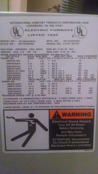Electric furnace blower won't shut off - DoItYourself.com ...
