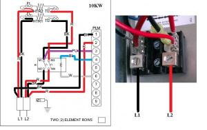 Wiring to heat strip for heat pump system  DoItYourself