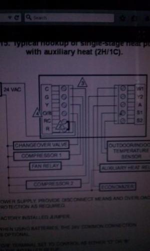 Wiring for for Honeywell Thermostat  DoItYourself