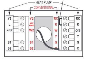 Lennox AHUHeat Pump, Honeywell Tstat wiring