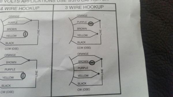 Wiring Diagrams Also 4 Wire Condenser Fan Motor Wiring Diagram
