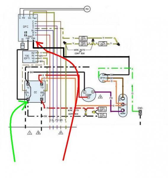 ac condenser fan motor wiring diagram tecumseh 6 5 hp carburetor problem - doityourself.com community forums