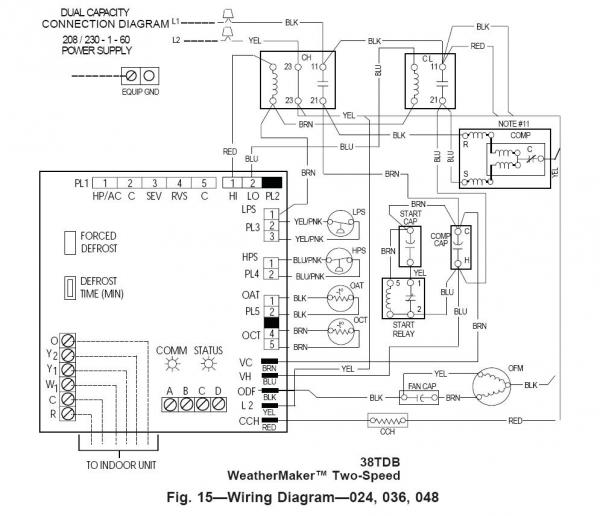 Wiring Diagram For Dual Capacitor