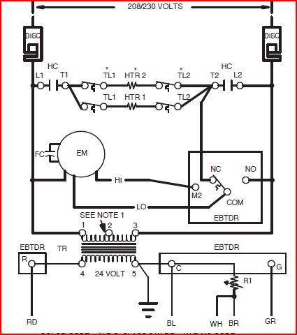 Heat Strip Wiring Diagram Heat Rod Wiring Diagram Wiring