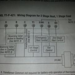 Home Thermostat Wiring Diagram Rockford P2 No Defrost In Heating Mode - Doityourself.com Community Forums