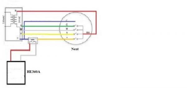 honeywell power humidifier wiring diagram make your own venn he360a schematic manual e books powered