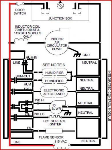 Aprilaire Humidifier Model 110 Wiring Diagram Aprilaire