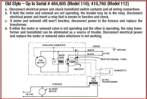 aprilaire 760 wiring diagram 2005 nissan altima serpentine belt just started running constantly - doityourself.com community forums
