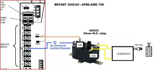 Aprilaire 760 Wiring Diagram Wiring Wiring Diagram And Schematics