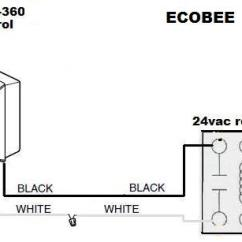 Honeywell Furnace Thermostat Wiring Diagram Power Window Relay Connect Powered Humidifier To Ecobee 4 - Doityourself.com Community Forums
