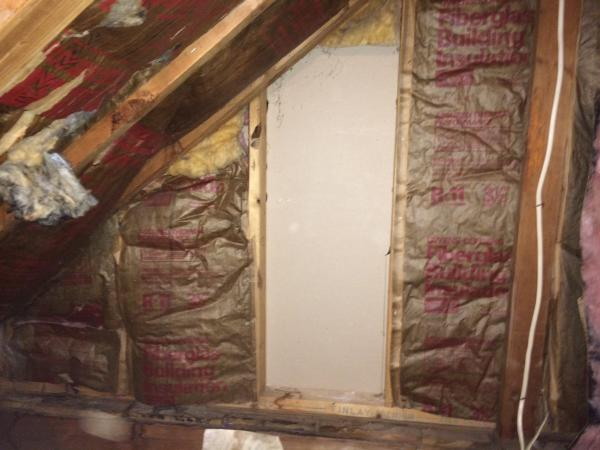 Cape Cod upstairs bathroom dormer insulation  DoItYourselfcom Community Forums