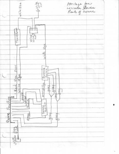 heritage ceiling fan wiring diagram