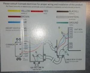 New exhaust fan wiring  DoItYourself Community Forums