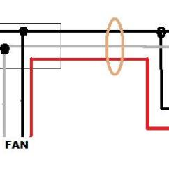 Ceiling Fan Wiring Diagram Red Wire Kelp Forest Help Installing A (no Light) On Circuit W/ Power & Switch Loop Re - Doityourself ...