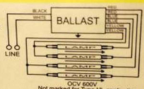 t12 fluorescent ballast wiring diagram 2011 ford radio 2 ballasts to 1 t8 running 4 bulbs - doityourself.com community forums