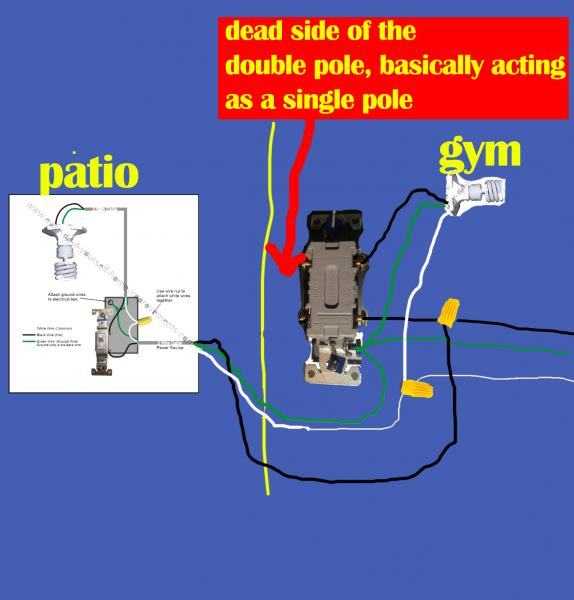 How To Wire A Double Light Switch Diagram How To Wire A Double Light