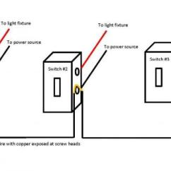 Three Way Switch Wiring Diagram Multiple Lights Coleman Furnace Gas Two Electrical Sources, Switches - Doityourself.com Community Forums