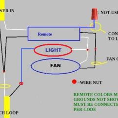 Wiring Diagram For Ceiling Light And Switch Stator Plate Fan Remote With 2 Wires - Doityourself.com Community Forums