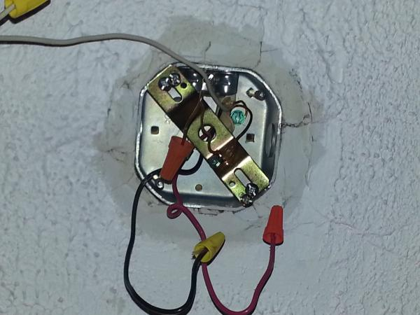 Creating A Ceiling Light Fixture Without Electrical Wiring