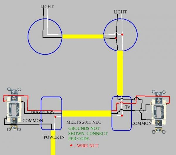 45637d1422382518 3 way 2 lights dimmer not working correctly zz?resize=600%2C528 lutron skylark ctcl 153p wiring diagram wiring diagram  at eliteediting.co