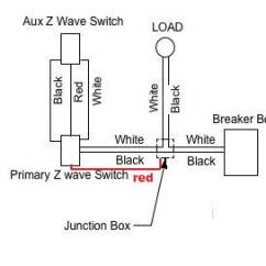 Wiring Diagram For 4 Way Switch Help With Ge Jasco Light Switches Connected Three Port Valve Z Wave Dimmer 3 Schematic Diagramjasco