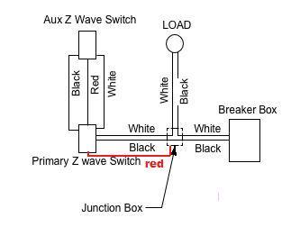 wiring diagram for 4 way switch help with ge jasco light switches connected rheem heat pump air handler z wave dimmer 3 schematic diagramjasco