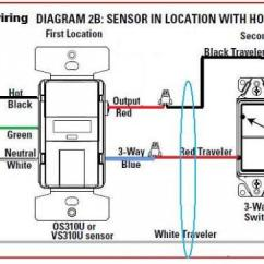 4 Way Switch Wiring Diagram Leviton Rcd Circuit Breaker Replacing 3way With Motion Sensor - Doityourself.com Community Forums