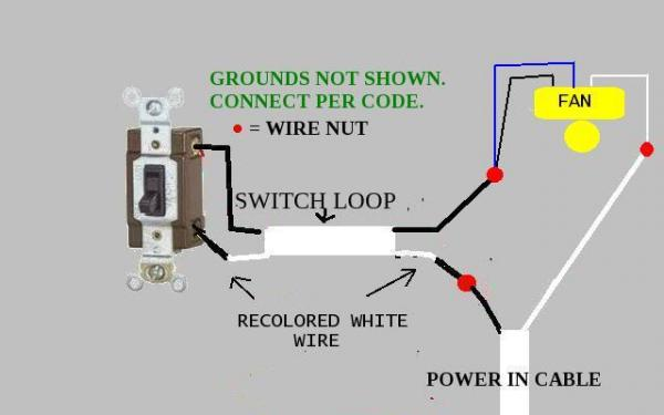 Old Ceiling Fan Wiring Diagram wwwlightneasynet
