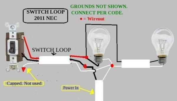 Have Power To 3 Way Switch 1 Then 3 Conductor Wire To Lights