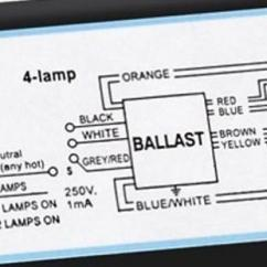 Fluorescent Emergency Ballast Wiring Diagram P58 Transducer How To Wire Metalux 6-bulb High Bay Lamp. - Doityourself.com Community Forums