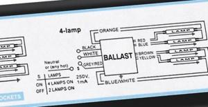How to wire Metalux 6bulb high bay lamp  DoItYourself