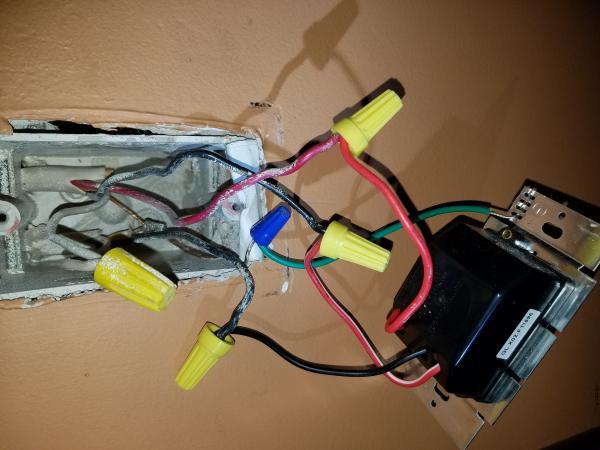 Fitting 3 Way Light Switch
