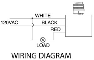 wiring diagram photocell sun movement photoelectric switch great installation of 2 circuit outdoor light to photocontrol doityourself com rh 12v